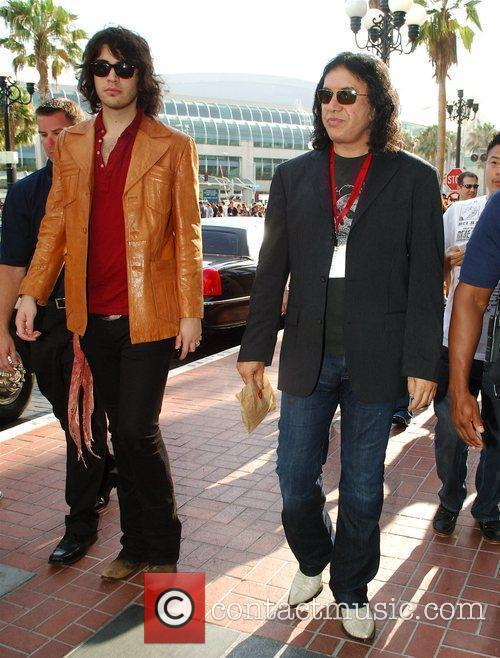 Gene Simmons and His Son 3