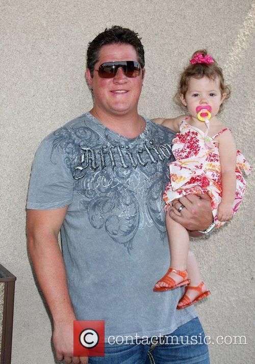 Derk Cheetwood with his daughter Kylie Danielle The...
