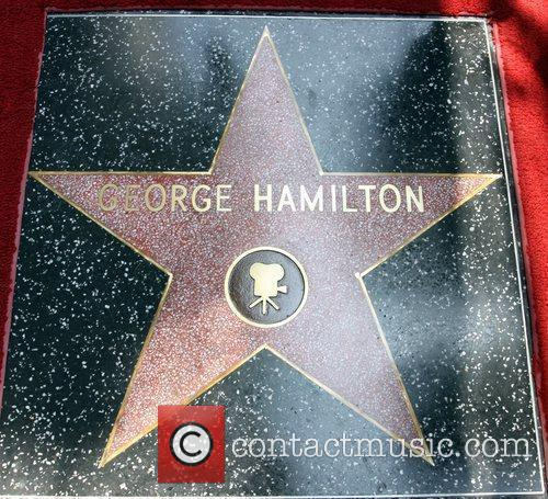 Atmosphere George Hamilton is honored on the Hollywood...