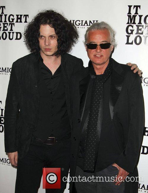 Jack White, Jimmy Page, Mann Village Theater