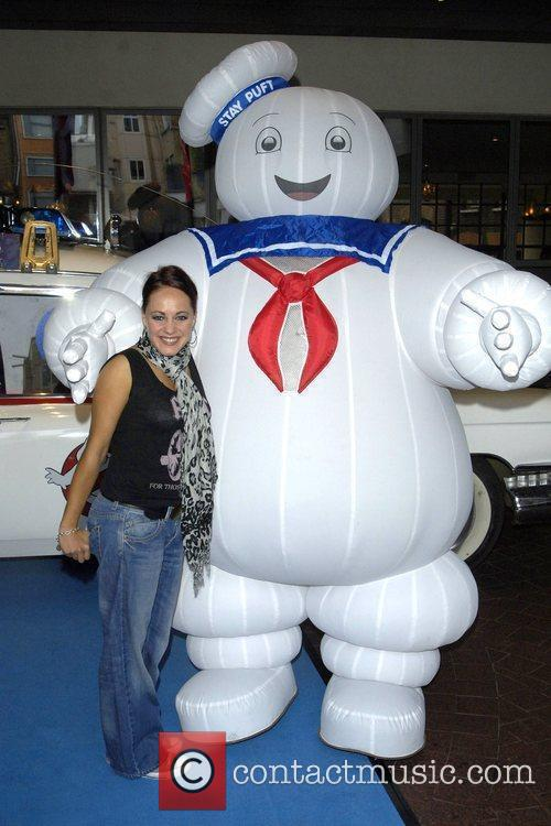 Sarah Cawood and Ghostbusters 2