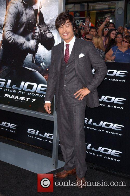 Byung-hung Lee Los Angeles Screening of 'G.I.JOE:The Rise...