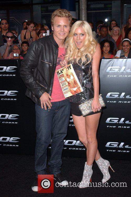 Heidi Montag and Spencer Pratt Los Angeles Screening...