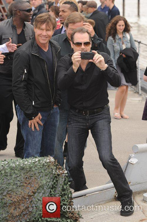 Dennis Quaid and Stephen Sommers 4