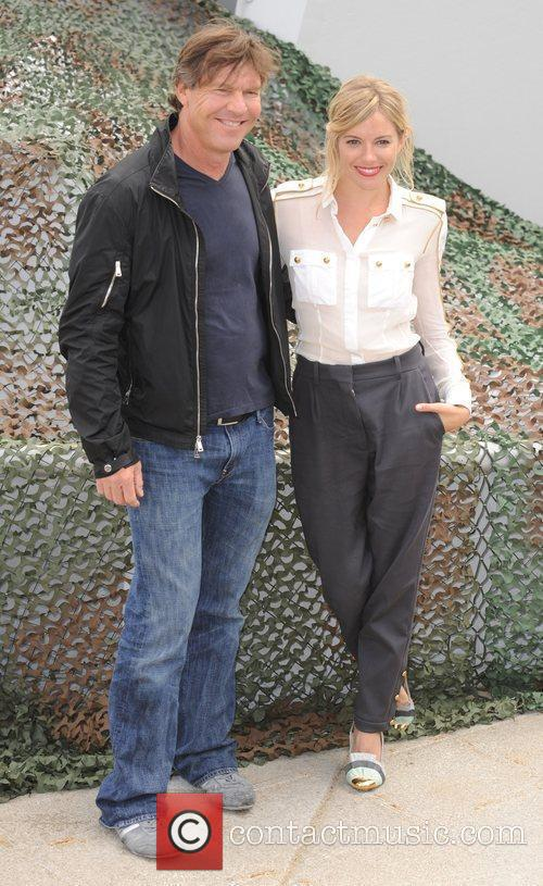Dennis Quaid and Sienna Miller 'G.I Joe: The...