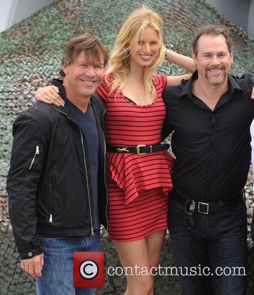 Dennis Quaid, Karolina Kurkova, Stephen Sommers 'G.I Joe:...