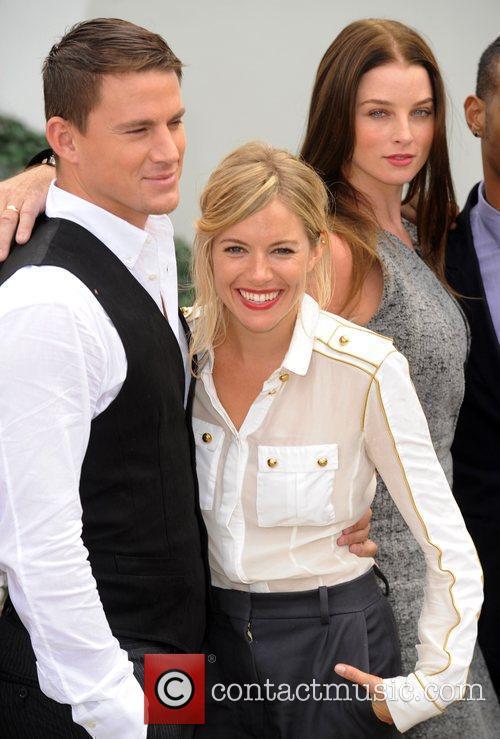 Sienna Miller and Channing Tatum, Rachel Nichols 'G.I...