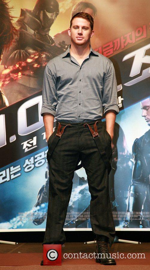 Channing Tatum 'G.I. Joe: The Rise Of Cobra'...