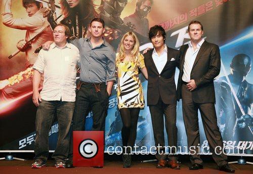 Lorenzo di Bonaventura, Channing Tatum, Sienna Miller, Lee...