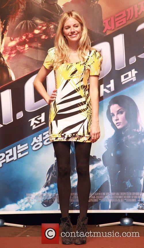 Sienna Miller 'G.I. Joe: The Rise Of Cobra'...