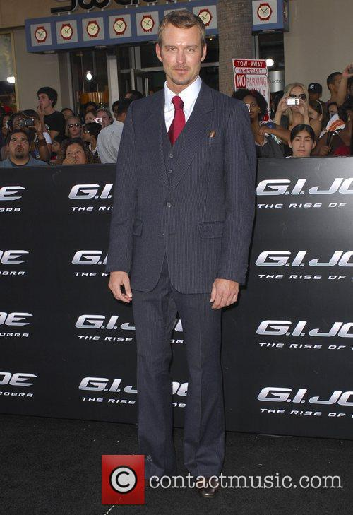 Gunner Wright Los Angeles Screening of 'G.I.JOE:The Rise...