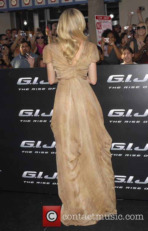 Sienna Miller Los Angeles Screening of 'G.I.JOE:The Rise...