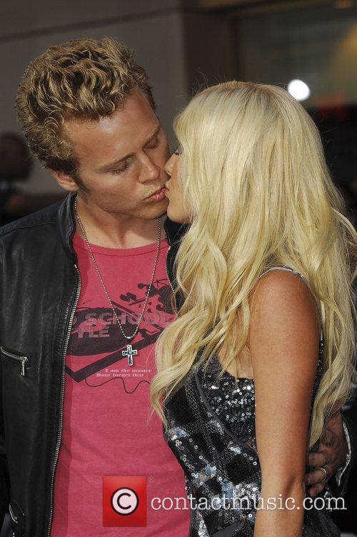 Spencer Pratt and Heidi Montag Los Angeles Screening...