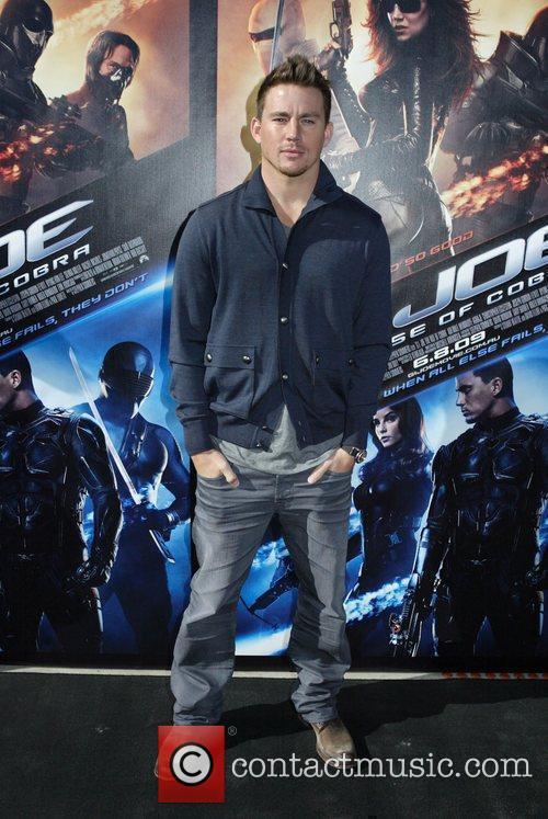 Channing Tatum 'Gi Joe: The Rise Of Cobra'...