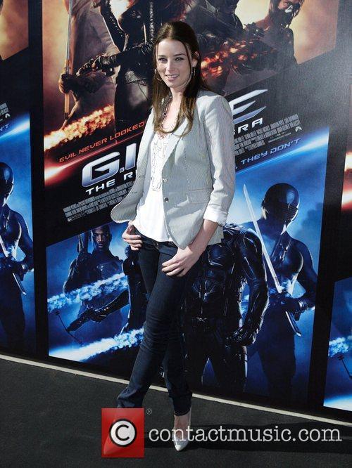 Rachel Nichols 'Gi Joe: The Rise Of Cobra'...