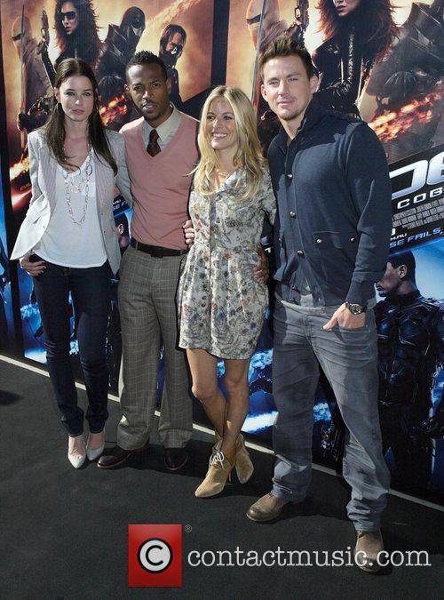 Rachel Nichols, Marlon Wayans, Sienna Miller and Channing...