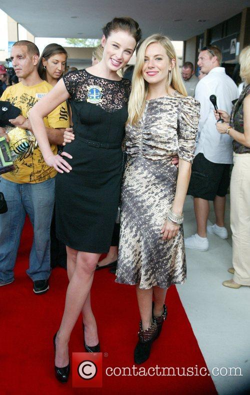 Rachel Nichols and Sienna Miller 10