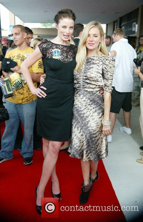 Rachel Nichols and Sienna Miller 11