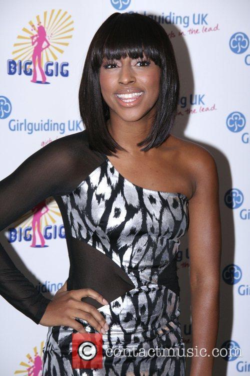 Alexandra Burke The Annual Girl Guiding UK Big...