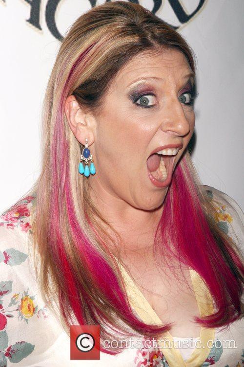 Lisa Lampanelli GLAAD Manhattan summer rooftop event at...