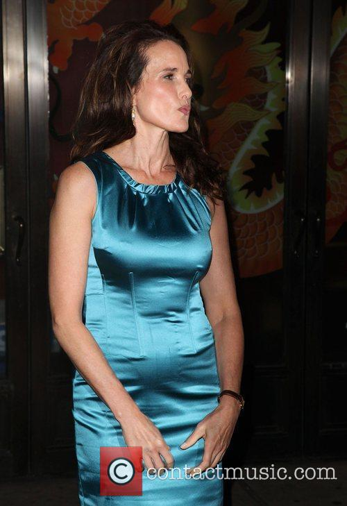 Actress Andie MacDowell  Glamour Woman of the...