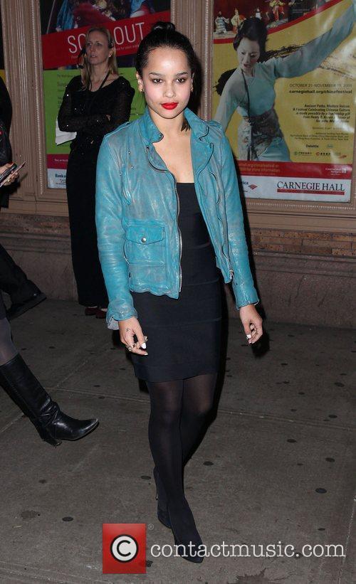 Actress Zoe Kravitz  Glamour Woman of the...