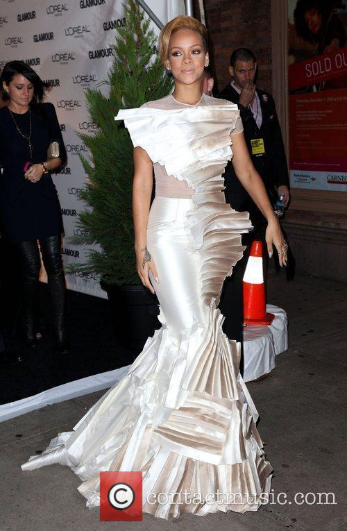 Singer Rihanna  Glamour Woman of the Year...