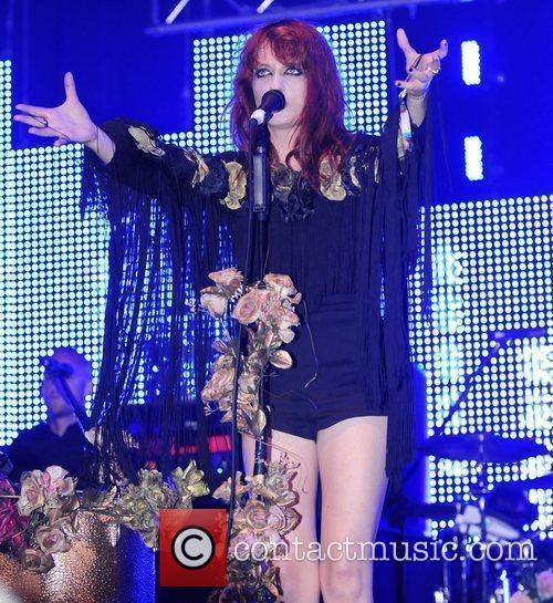 Florence and the Machine performing live at 2009...