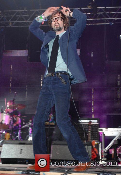 Performing live at 2009 Glastonbury Festival - Day...