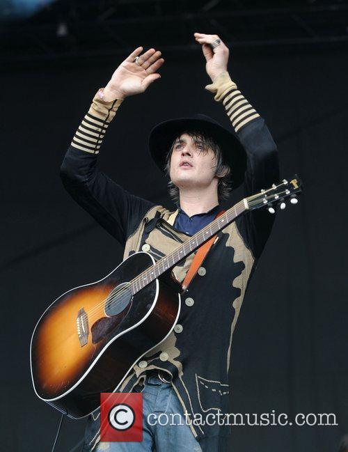 Pete Doherty and Glastonbury Festival 9