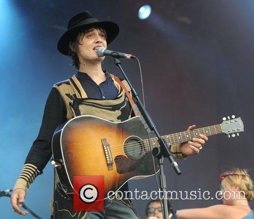 Pete Doherty and Glastonbury Festival 10