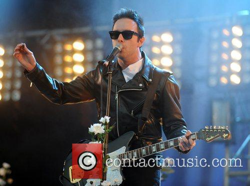 Perform at the 2009 Glastonbury Festival - Day...