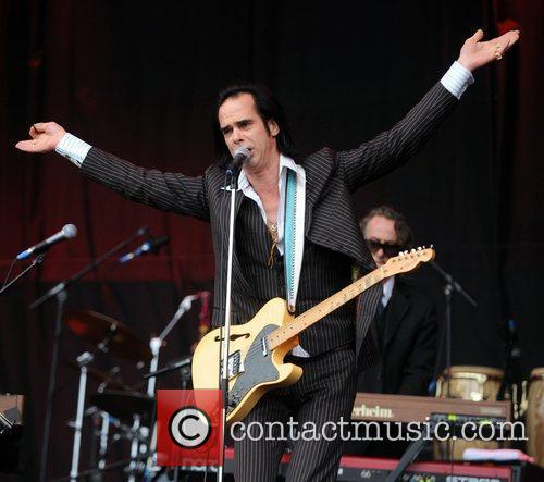 Nick Cave And The Bad Seeds perform at...