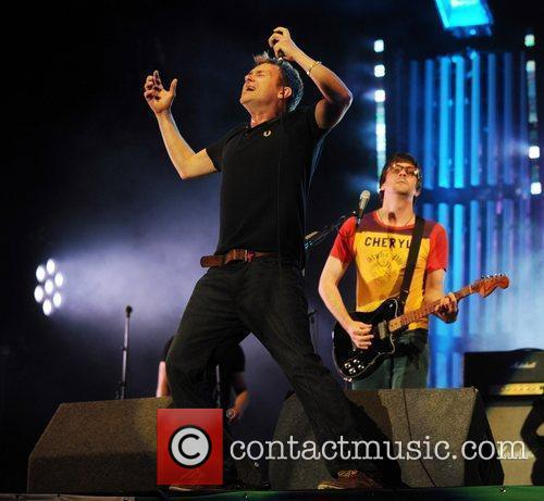 Blur and Glastonbury Festival