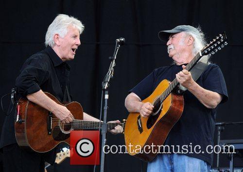 Crosby Stills And Nash and Glastonbury Festival