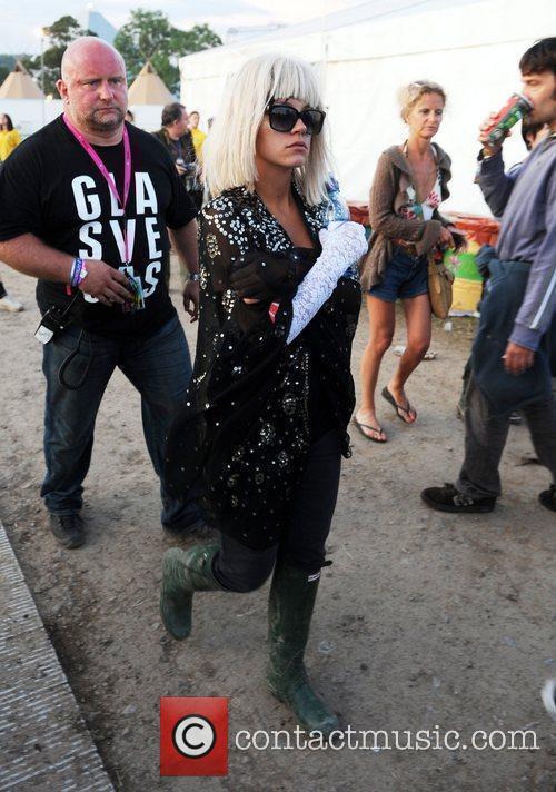 Lily Allen 2009 Glastonbury Festival - Day 2...