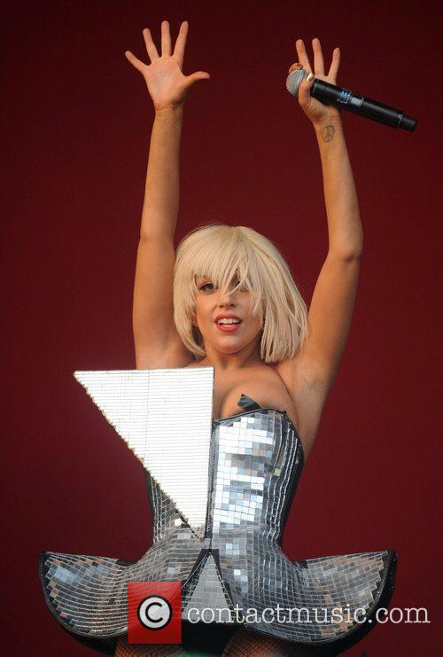 Lady Gaga, Glastonbury Festival and Glastonbury 4