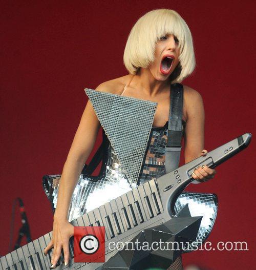 Lady Gaga, Glastonbury Festival and Glastonbury 7