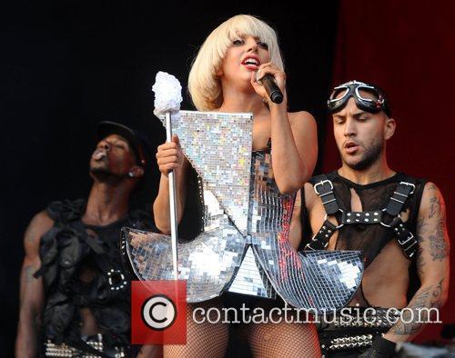 Lady Gaga, Glastonbury Festival and Glastonbury 6