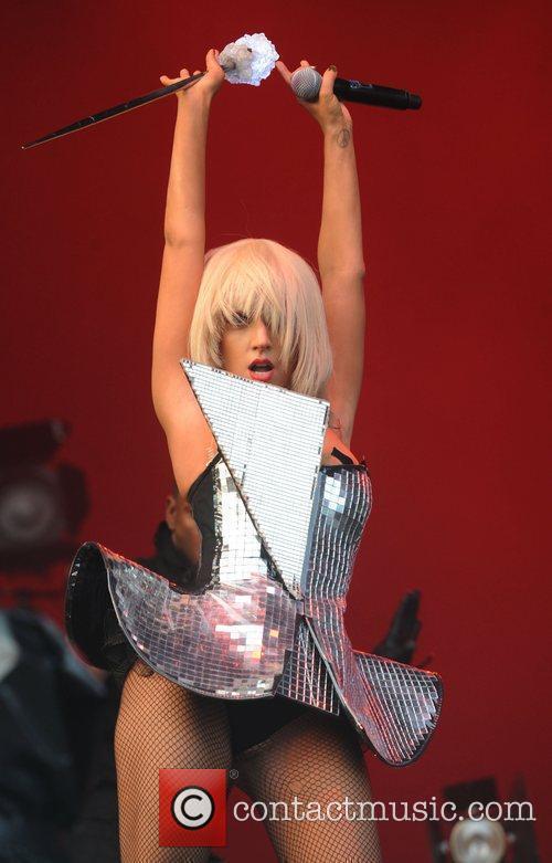 Lady GaGa, Glastonbury Festival and Glastonbury 17