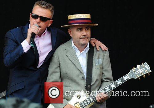 Suggs, Glastonbury Festival, Madness and Glastonbury 3