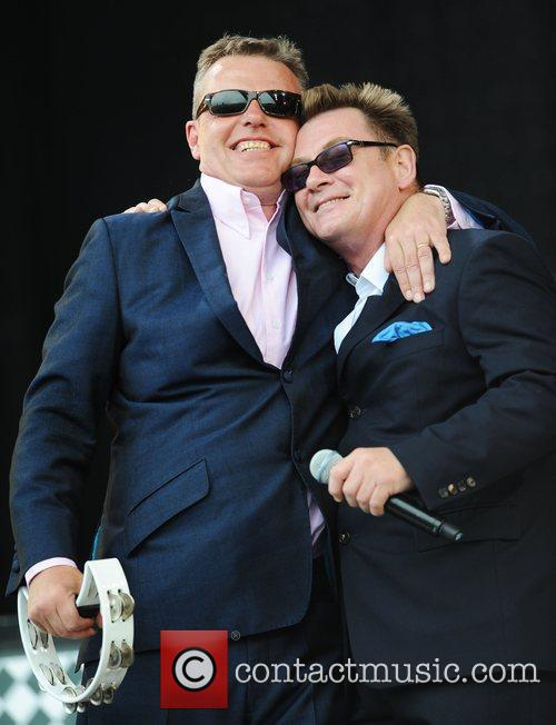 Suggs, Glastonbury Festival, Madness and Glastonbury 1