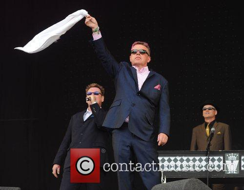 Suggs, Glastonbury Festival, Madness, Glastonbury