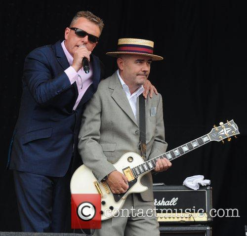 Suggs, Glastonbury Festival, Madness and Glastonbury 14
