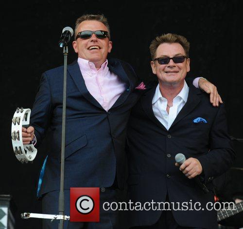 Suggs, Glastonbury Festival, Madness and Glastonbury 11