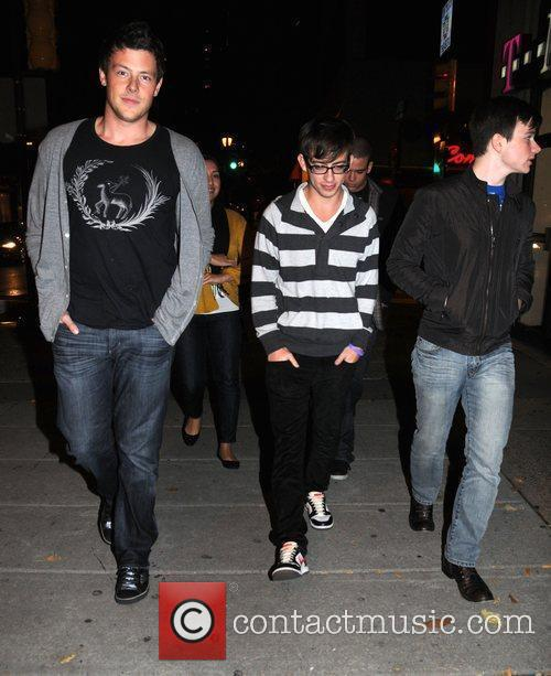 Cory Monteith and Kevin McHale from CW's Glee...