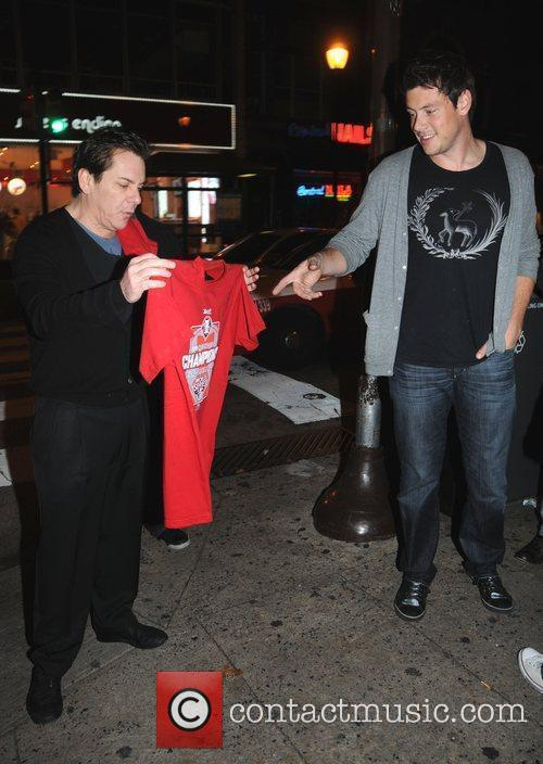 Cory Monteith from CW's Glee is offered Phillies...