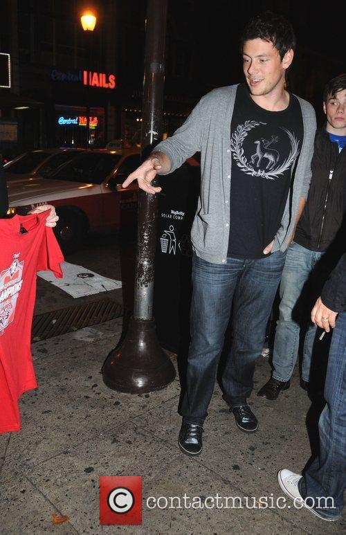 Is offered Phillies Championship T-Shirt from a street...