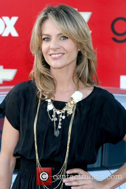 Jessalyn Gilsig Premiere of Fox's 'Glee' at Willows...
