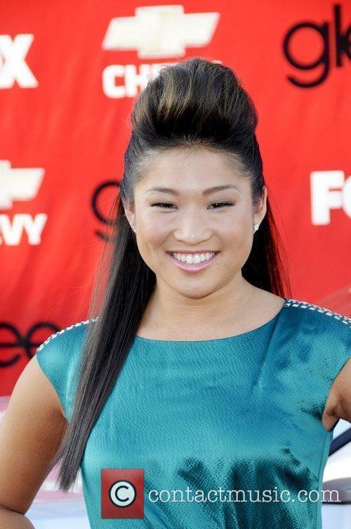 Jenna Ushkowitz attends the premiere of Fox's 'Glee'...